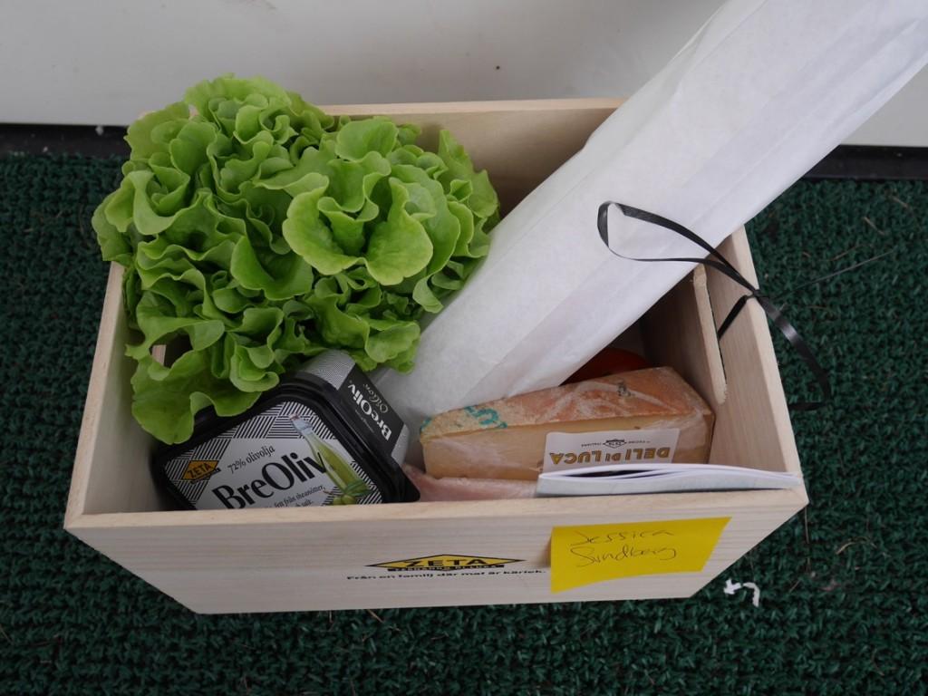 En grön ballong OCH fantastiska produkter - oslagbar kombo!