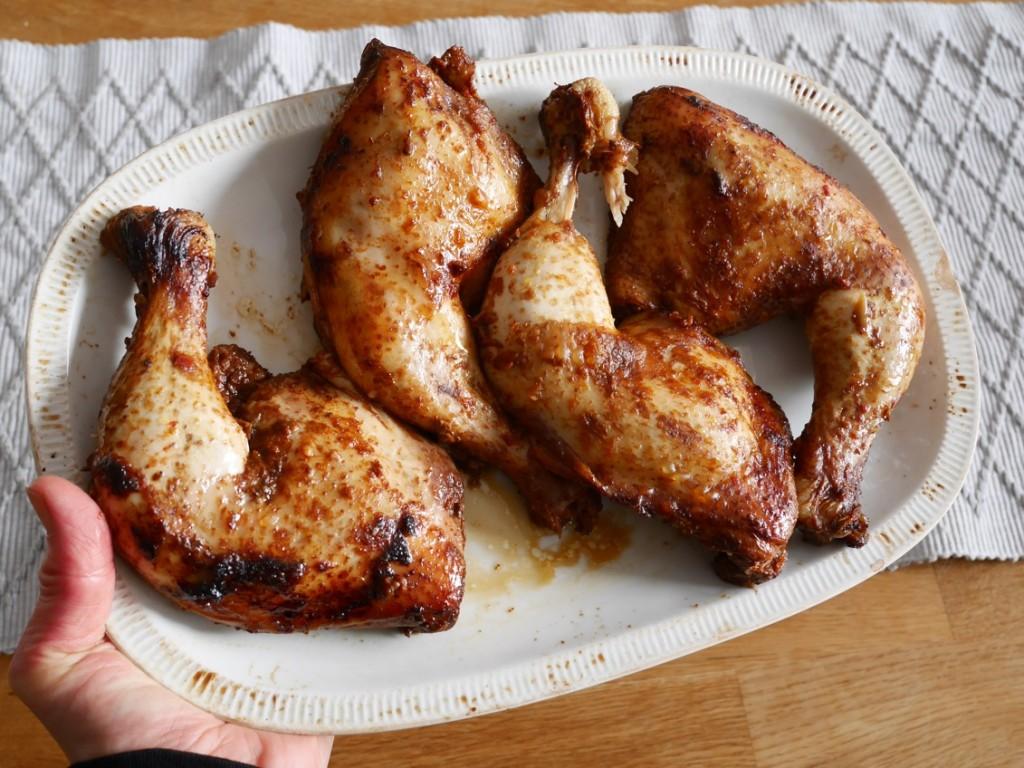 Otroligt saftig och god kyckling.