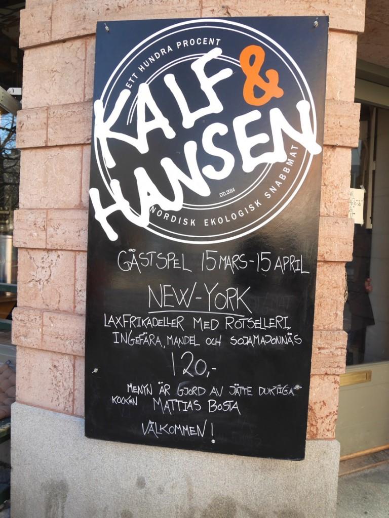 Mattias Bosta gästspelar på Kalf & Hansen