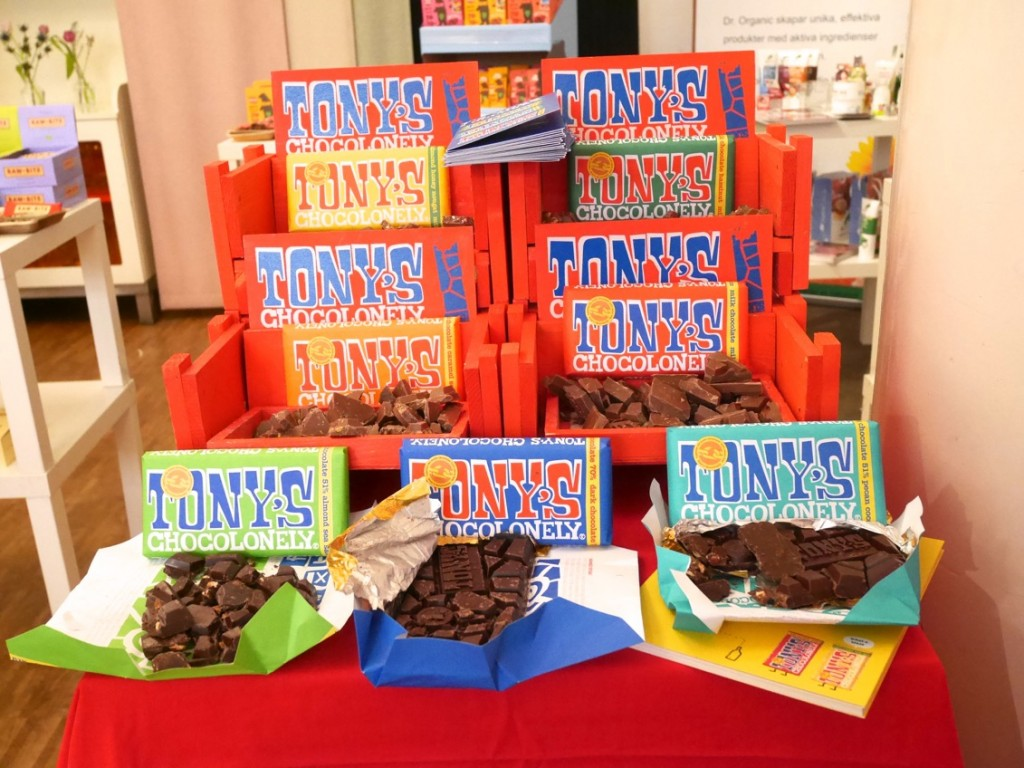 Tonys chocolonely - Fairtrade-märkt choklad