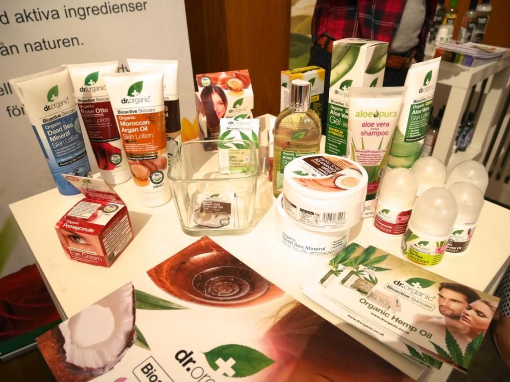 Härliga produkter från Dr Organic.