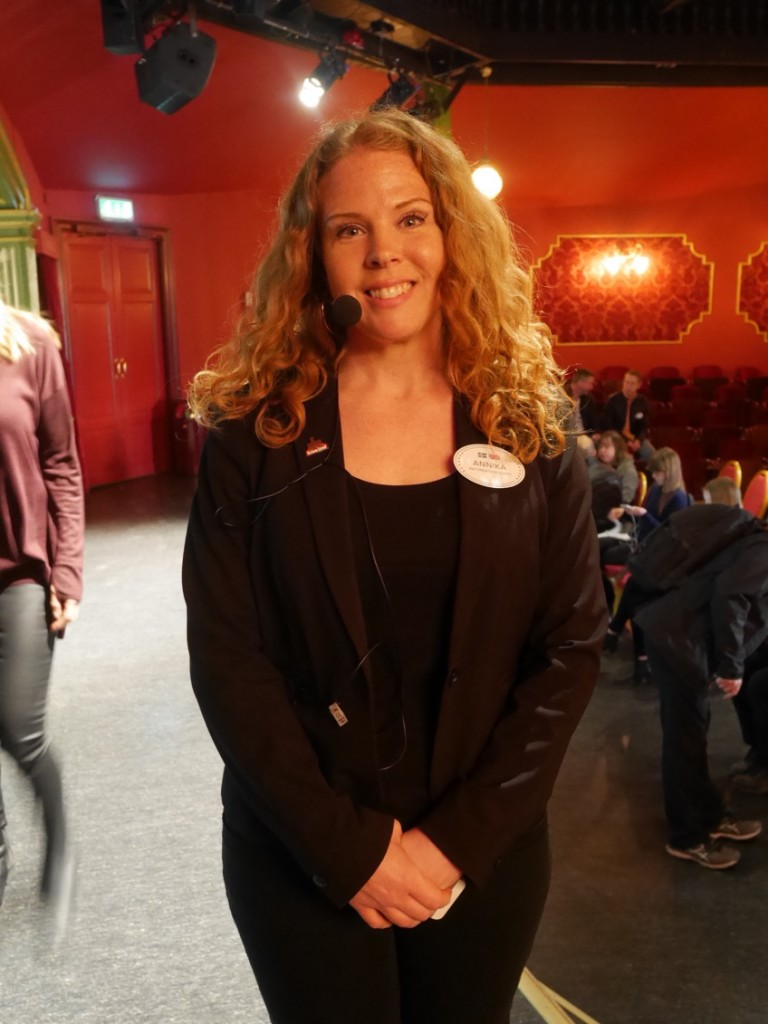 Informationschef Annika Troselius.
