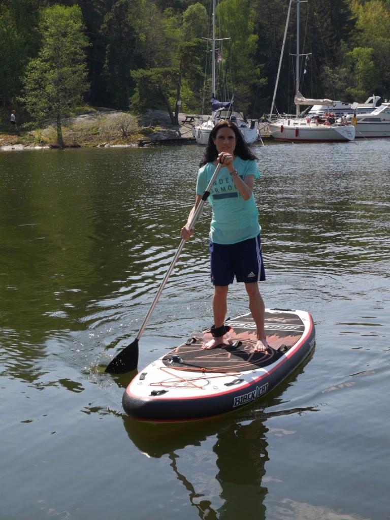 Stand Up Paddle är verkligen rogivande och helt magiskt!