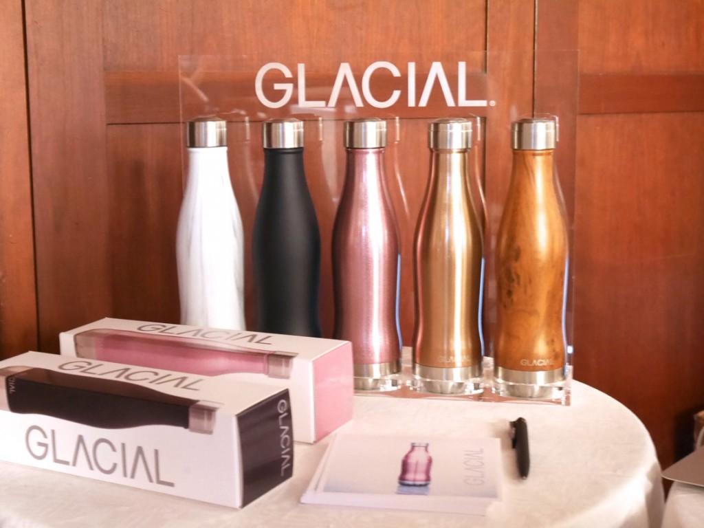 Glacial Bottle hittar du just nu på Stockholm Beauty Week.