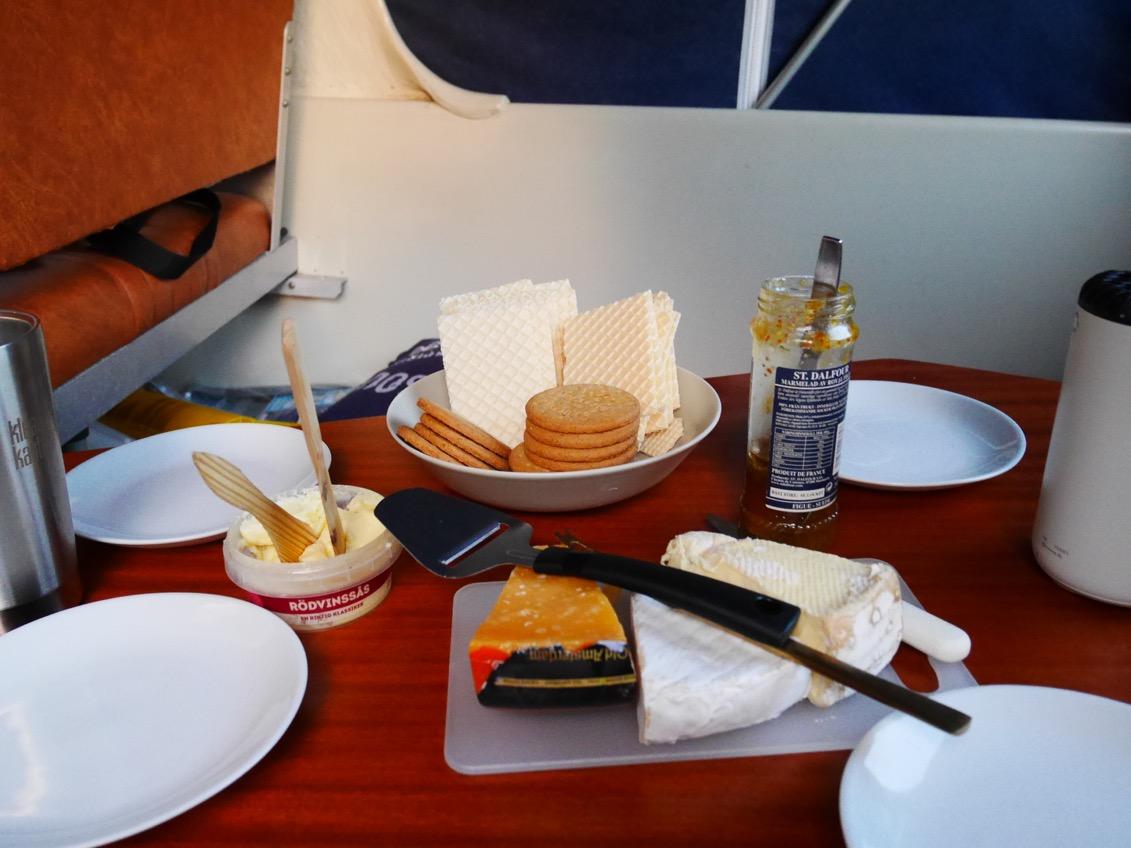 Älskar ost och kex!