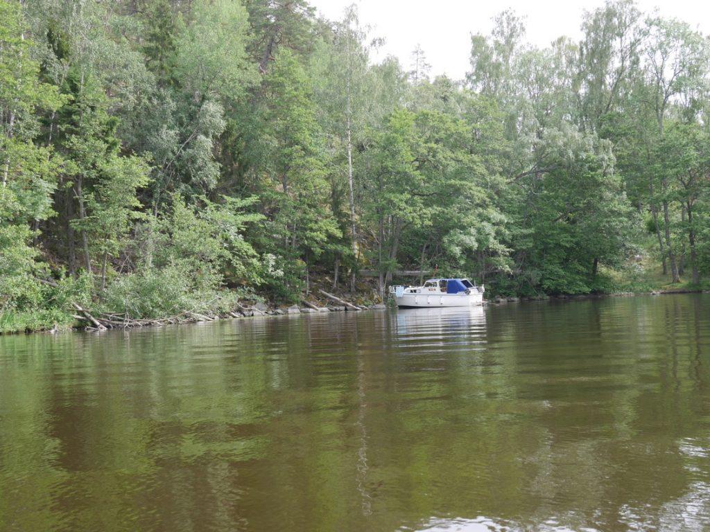 Båttur till Rosersbergsviken