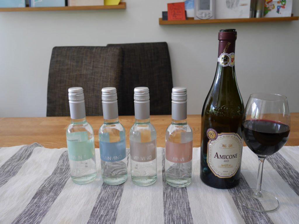 Finns i fyra olika varianter. Var och en anpassat för att matcha olika kategorier av vin.