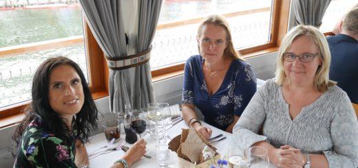 Middag ombord S/S Stockholm