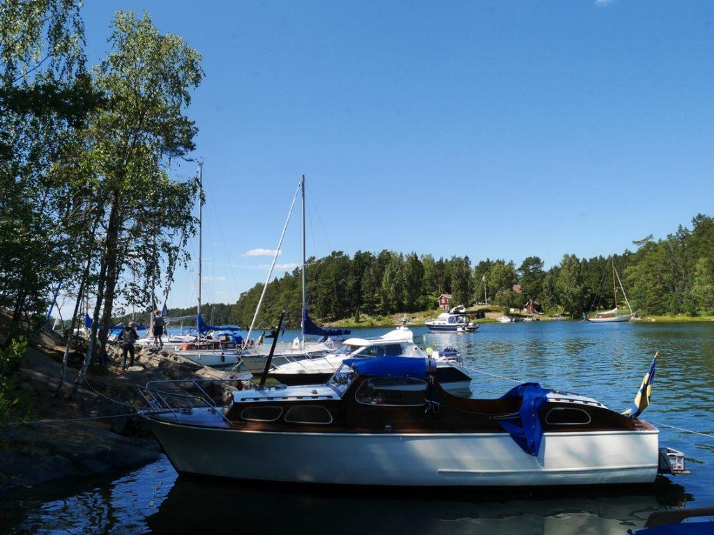 Tips på naturhamnar i Skärgården och Mälaren