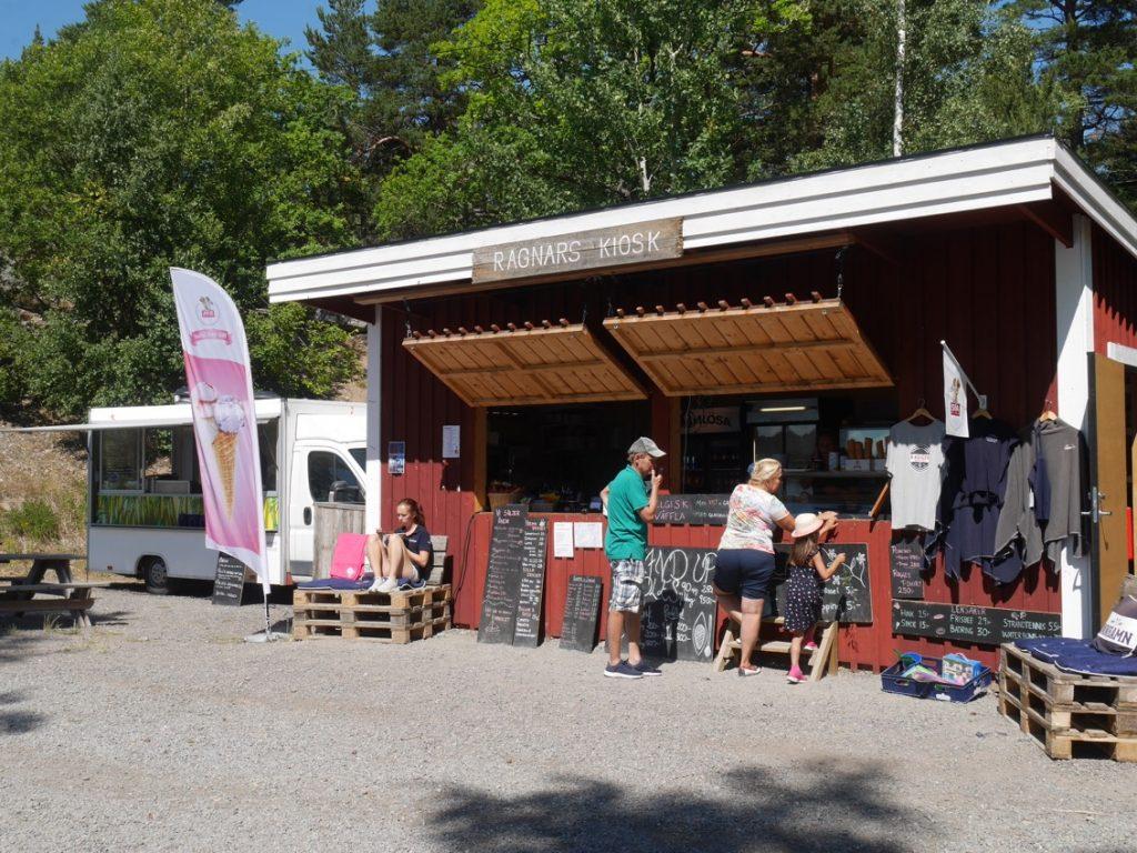 Strandcafé och foodtruck