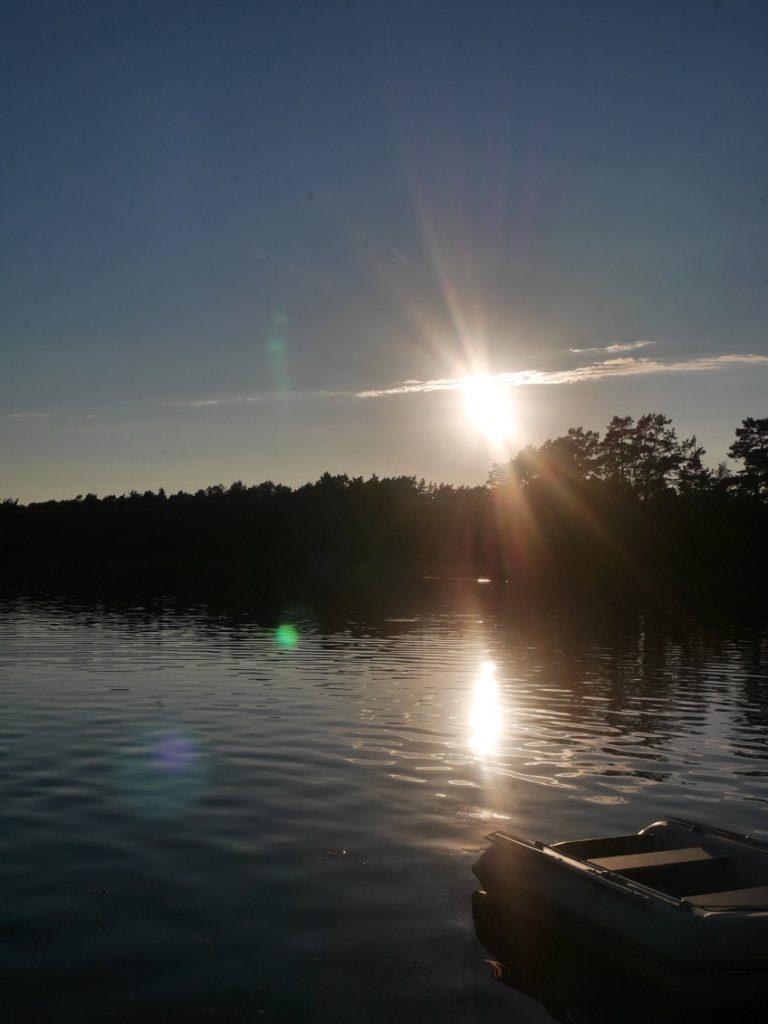 Vilka underbara solnedgångar vi har njutit av!