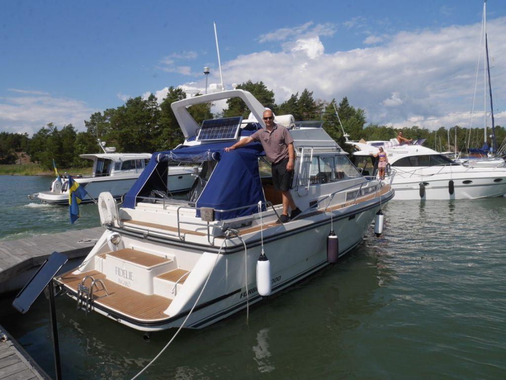 Dags att köra hem vår nya båt!