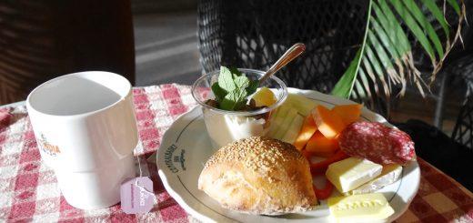 Frukost i den här miljön alltså!!!