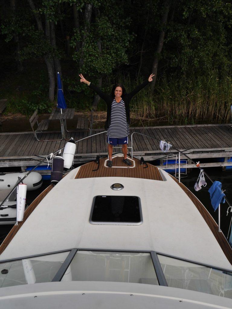 Älskar båtlivet!