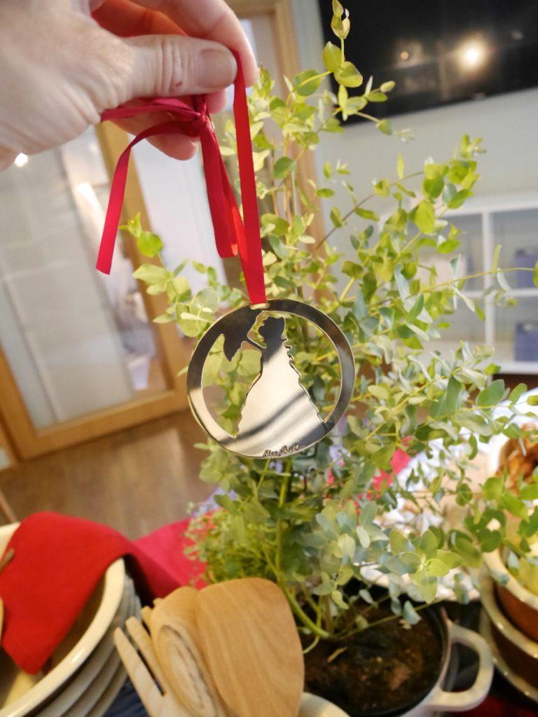 Perfekt att hänga i julgranen.