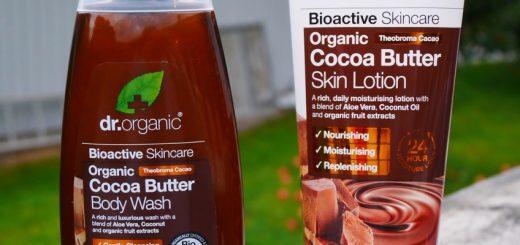 Hudvård med kakaosmör