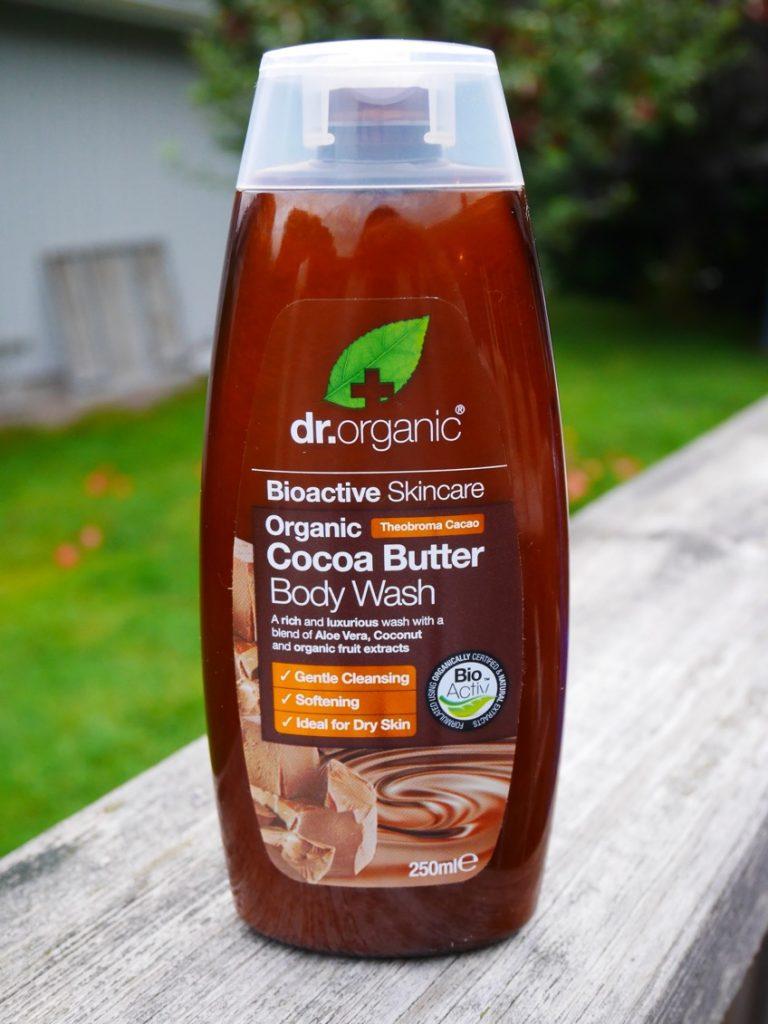 Duschtvål från Dr Organics