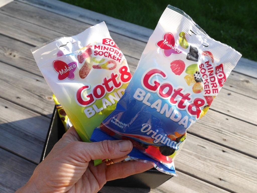 Gott & Blandat 30% mindre socker
