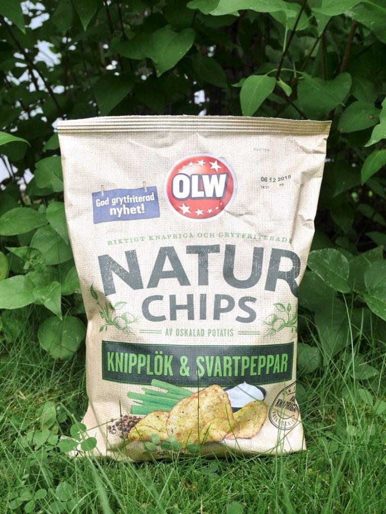 Naturchips Knipplök & Svartpeppar