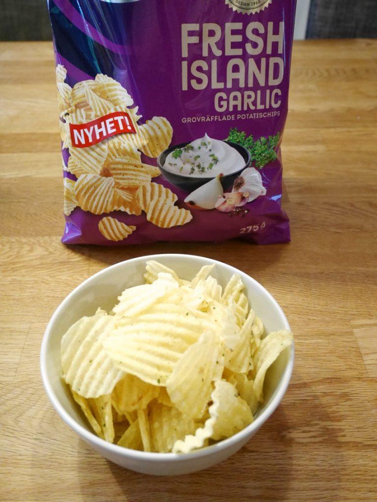 Hade föredragit samma smak på ett lövtunt chips.