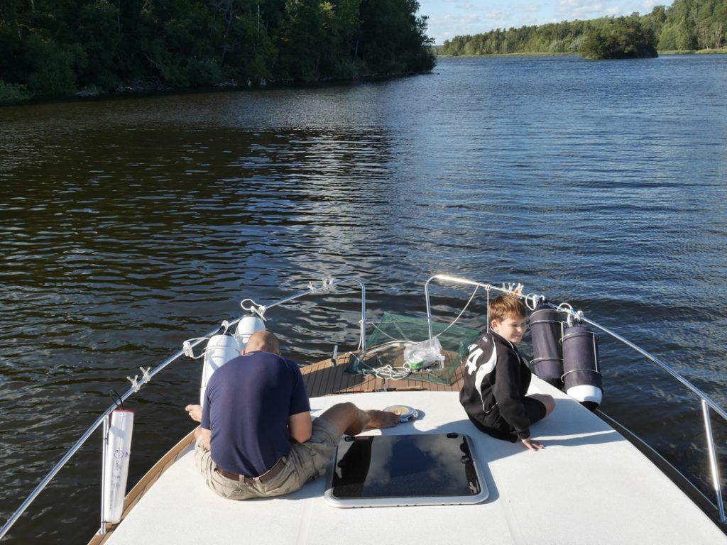 Förberedelse inför fiske