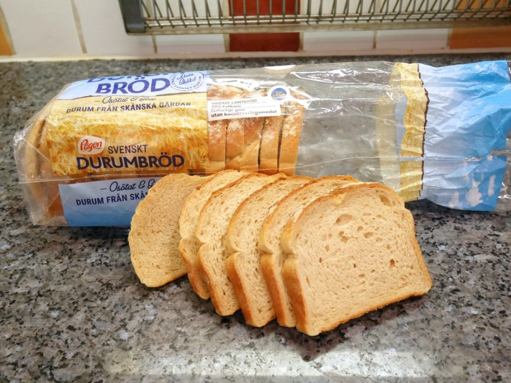 Lätt och luftigt bröd.