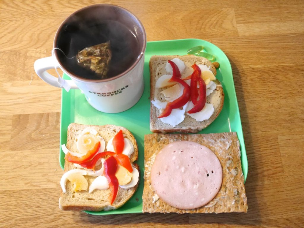 Min söndagsfrukost.