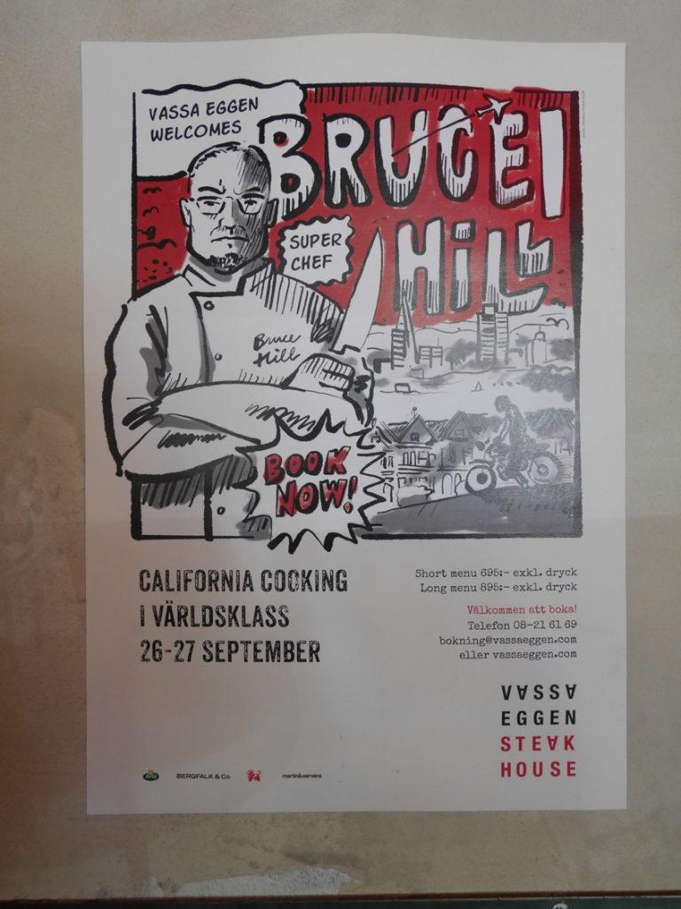 Missa inte Bruce Hill och hans fantastiska mat!