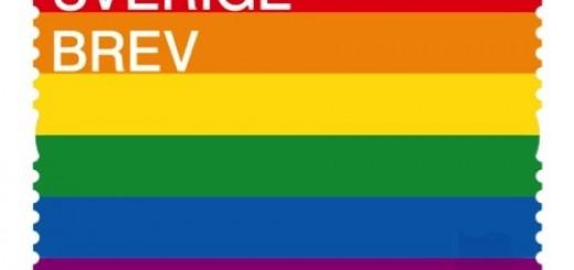 Prideflaggan blir frimärke