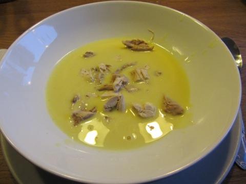 Thaisoppa med kyckling - perfekt start på våffeldagen!