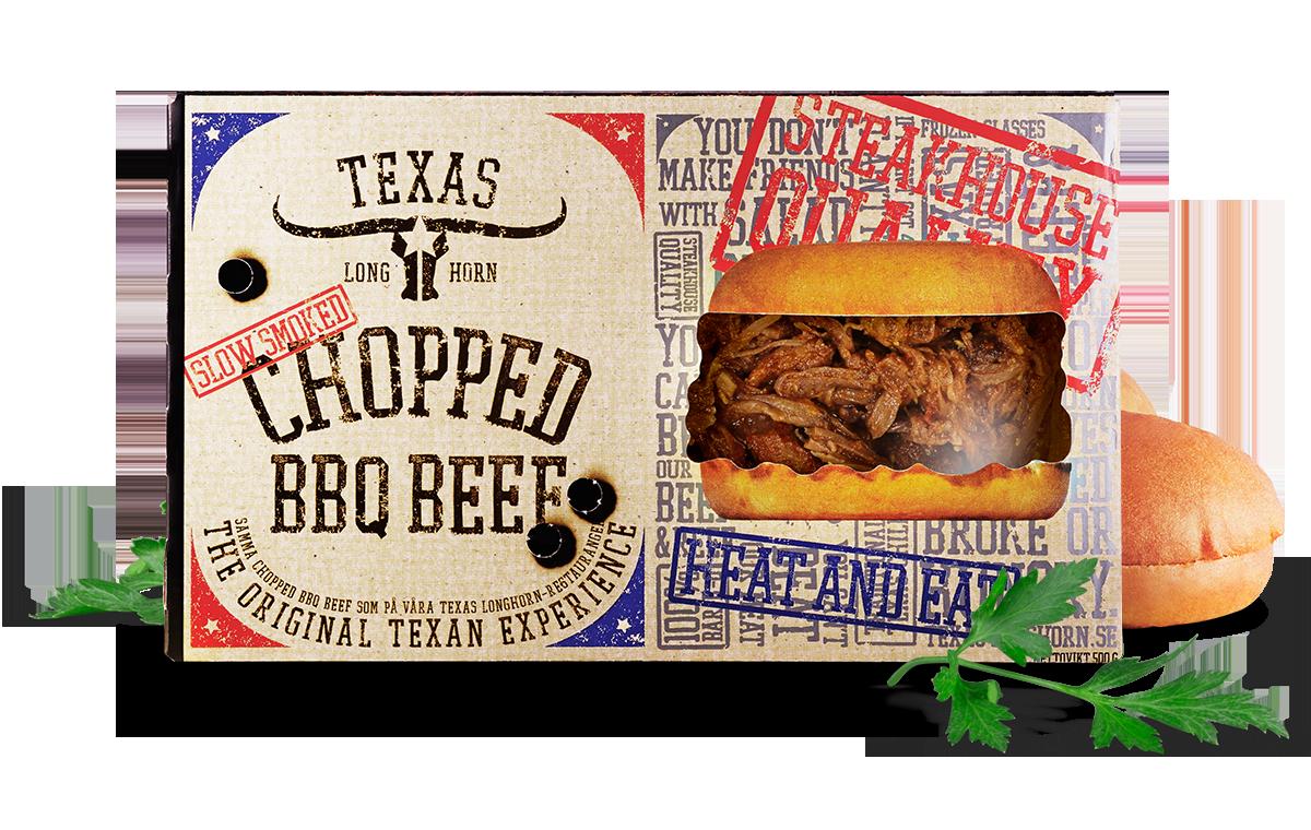 chopped bbq beef