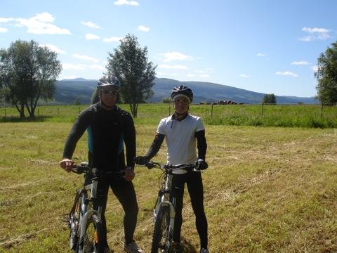 Cykeltur i Åre