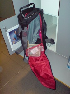 Min lockerbag får inte plats i gymmets locker!