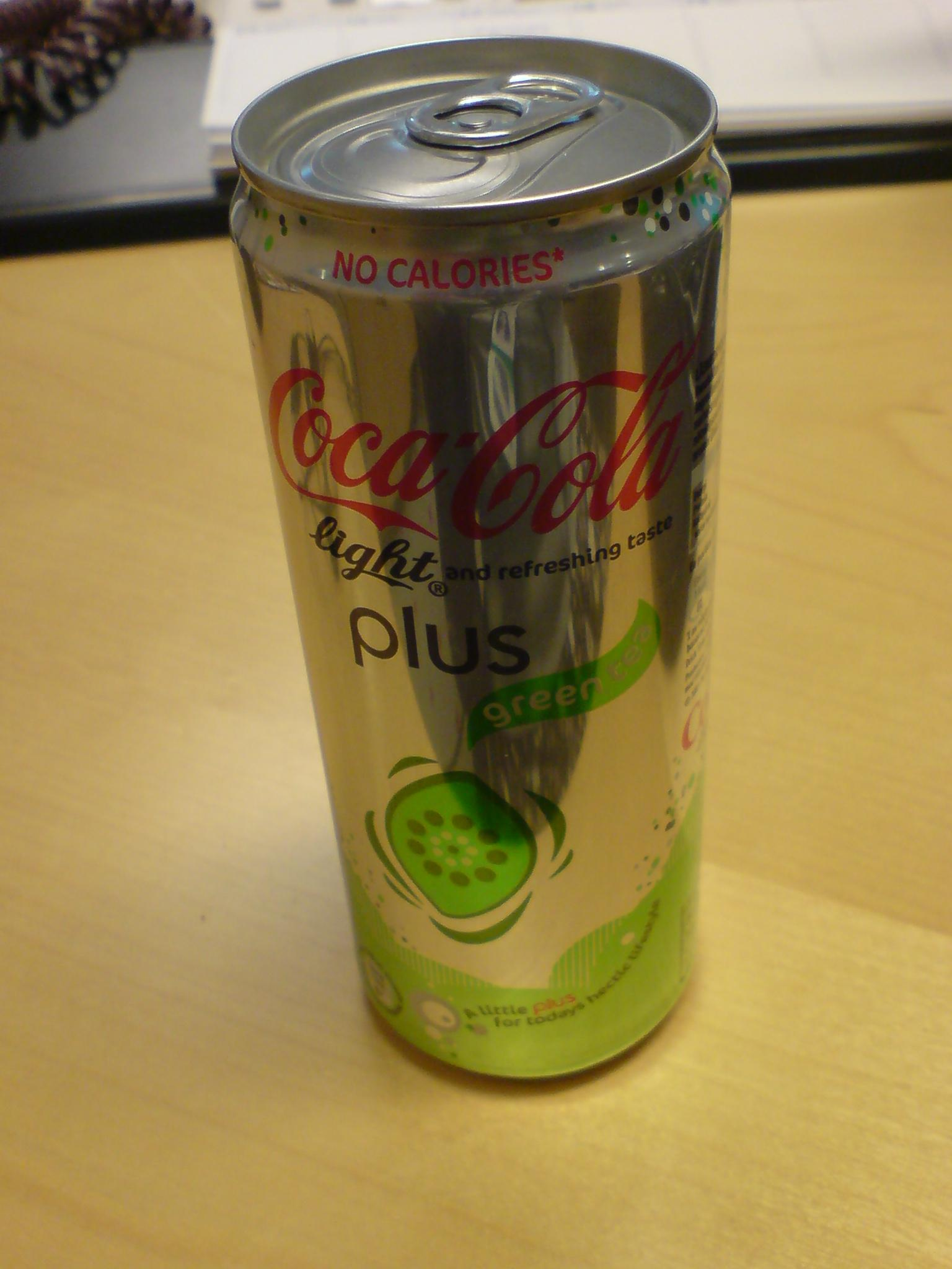 Coca Cola Light Plus Green Tea