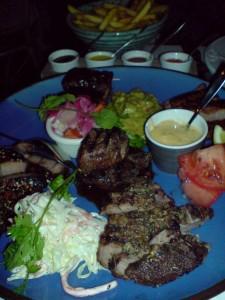 Grill Plate med tillbehör