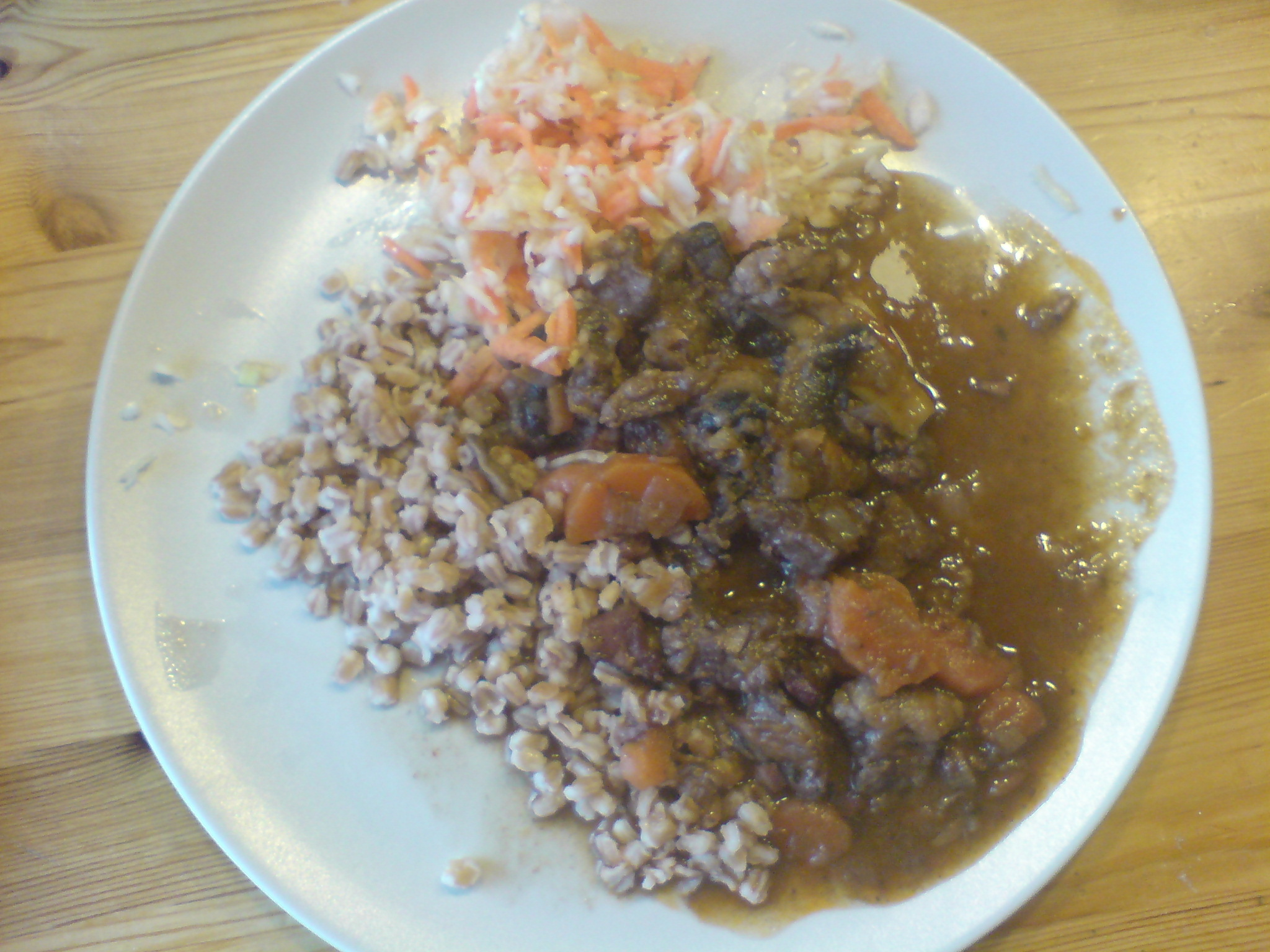 Fransk köttgryta med quinoa