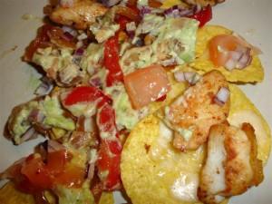 Fajitas på nachochips