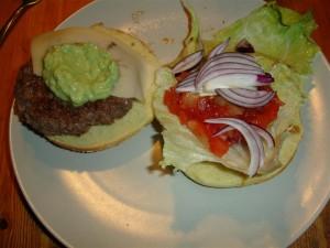 Amerikanska hamburgare
