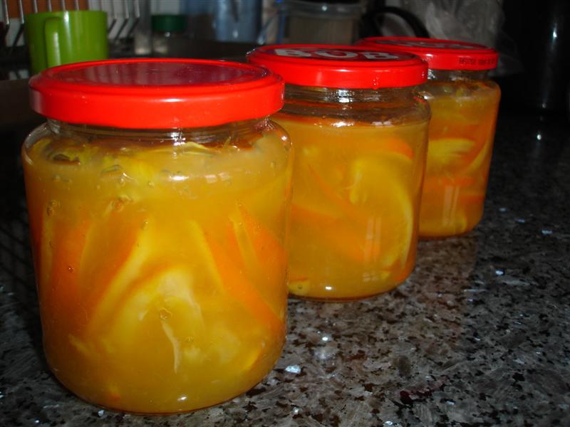 Apelsinmarmelad Med Skal