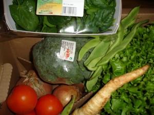 Grönsakerna i min ekolåda