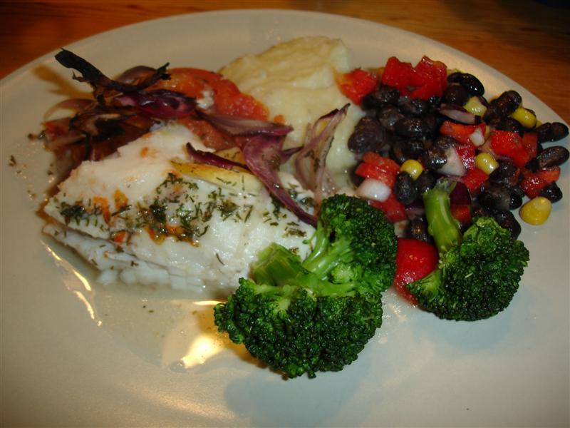 Nyttig fisk och spännande mos