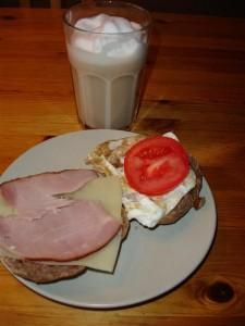 Underbart god lördagsfrukost