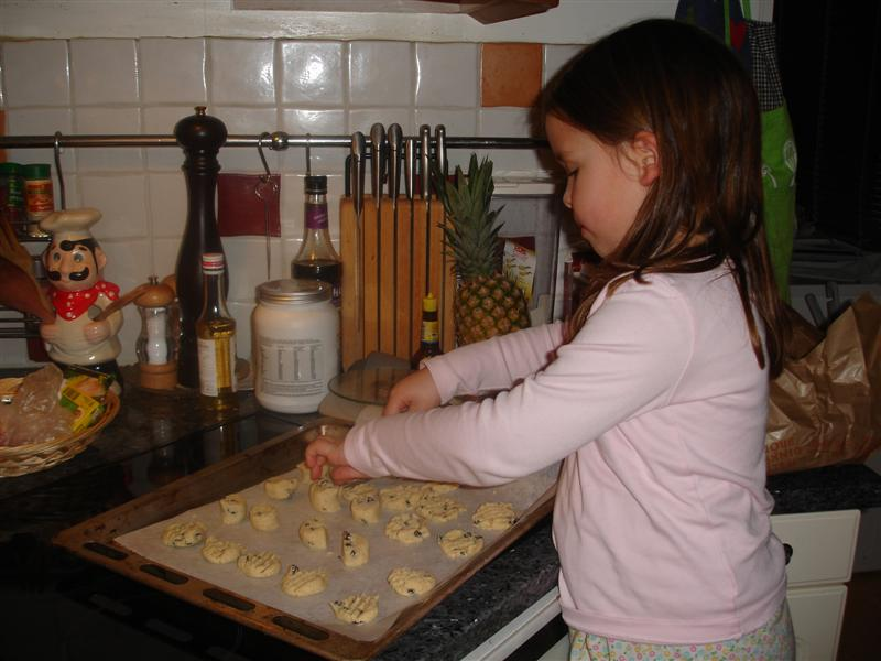 Filippa, en hejare på att baka kakor