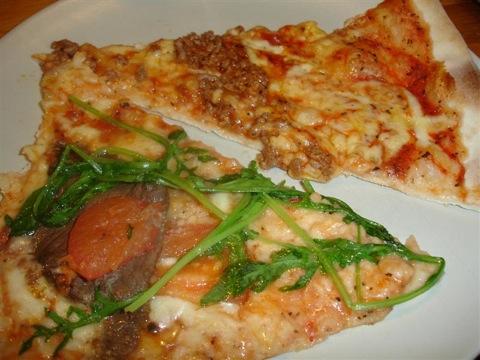 Smaskig pizza