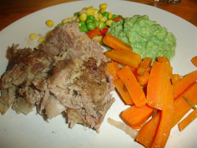 Underbart god köttfärslimpa