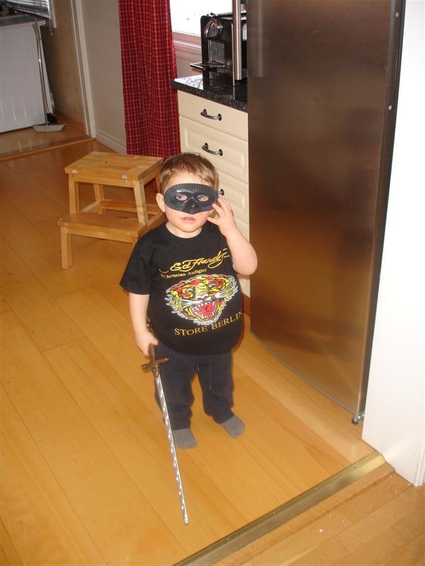 Gustaf eller Zorro?!