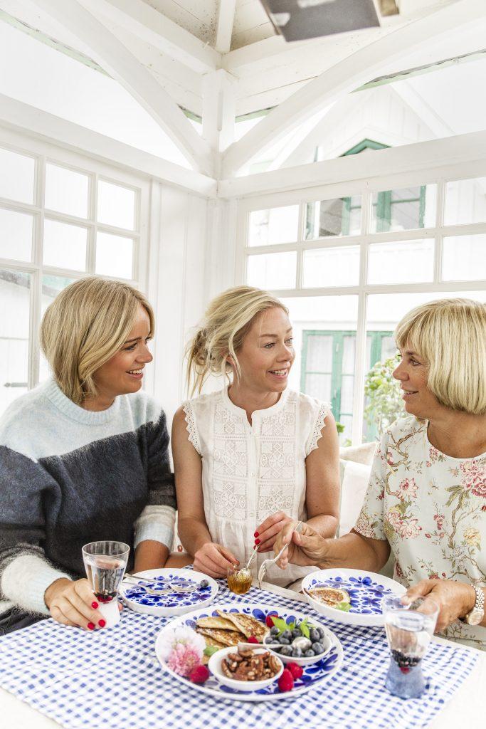 Ebba, Amy och Helen.