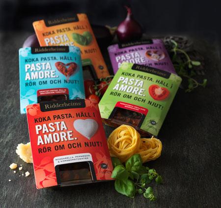 pasta amore från Ridderheims