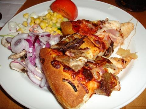 Pizza pizza och mer pizza på Pizza Hut