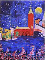 plura stockholms stjärnor litografi